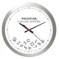 Zegary, Aluminiowy zegar naścienny whatever