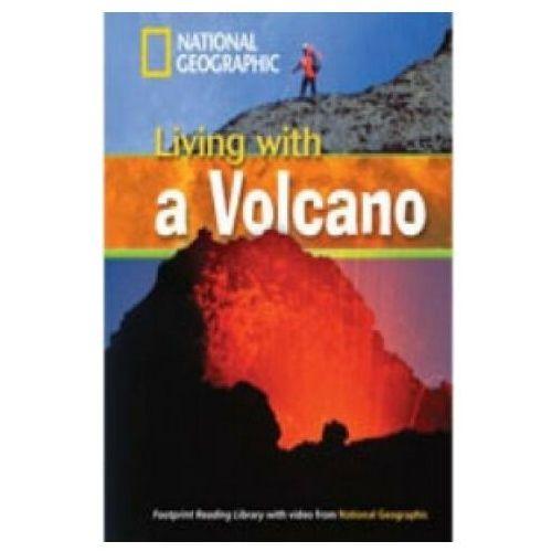 Książki do nauki języka, Living + a Volcano + MultiROM. Footprint Reading Library 1300 Headwords (opr. miękka)