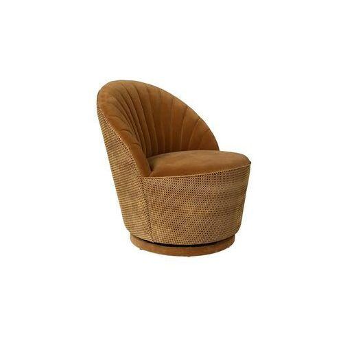 Fotele i krzesła biurowe, Dutchbone Fotel MADISON WHISKEY 3100114