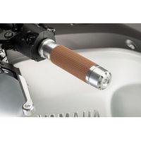 Manetki motocyklowe, Manetki PUIG Hi-Tech Vintage do kierownic 22 mm (srebrne)