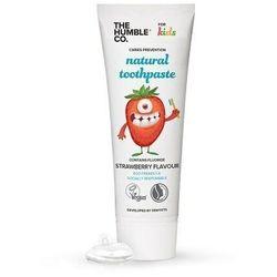 HUMBLE BRUSH Naturalna pasta do zębów dla dzieci TRUSKAWKOWA 75ml