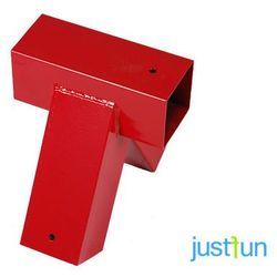 Łącznik do belki 90x90 mm, 100° - czerwony