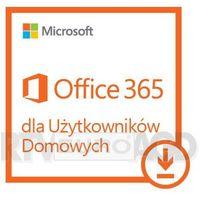 Programy biurowe, Program Microsoft Office 365 Home Premium Subskrypcja 1 rok (6GQ-00092) Darmowy odbiór w 21 miastach!