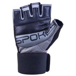 Rękawice fitness SPOKEY Guanto II Czarno-szary (rozmiar M)
