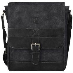 Gabol Flat 533811_001 mała torba na ramię / czarna - Black