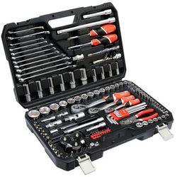 Zestaw narzędzi 126cz. dla serwisów samochodowych / YT-38875 / YATO - ZYSKAJ RABAT 30 ZŁ