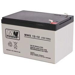 Akumulator AGM MWP MWS 12-12 (12V 12Ah)