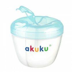Pojemniki do przechowywania mleka w proszku z dozownikiem Blue Akuku