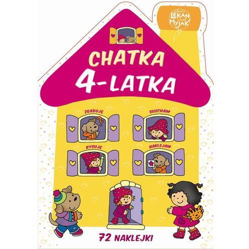 Książki dla dzieci, Chatka 4-latka (opr. broszurowa)