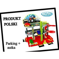 Parking 3 poziomy Mochtoys