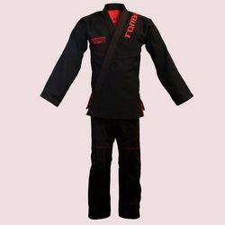 kimono do BJJ / ju-jitsu HURRICANE, czarny, 580g/m2 / 14oz (9 rozmiarów)