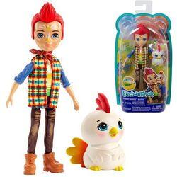 ENCHANTIMALS Lalka ze zwierzątkiem Rooster Doll & Cluck kogut