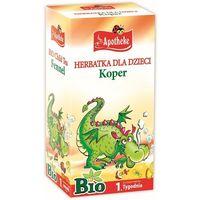 Herbatki dla dzieci, Herbatka Dla Dzieci Koper Bio 20X1,5 G - Apotheke