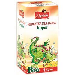 Herbatka Dla Dzieci Koper Bio 20X1,5 G - Apotheke