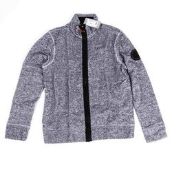bluza BENCH - Funnel Zipper Structured Felpa Grey Marl (11251) rozmiar: M
