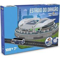 Puzzle, 3D Puzzle Nanostad Portugal - O Dragao fotbalový stadion Porto neuveden