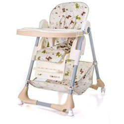 Krzesełko do karmienia ACE 1015 Pieski (Beż)