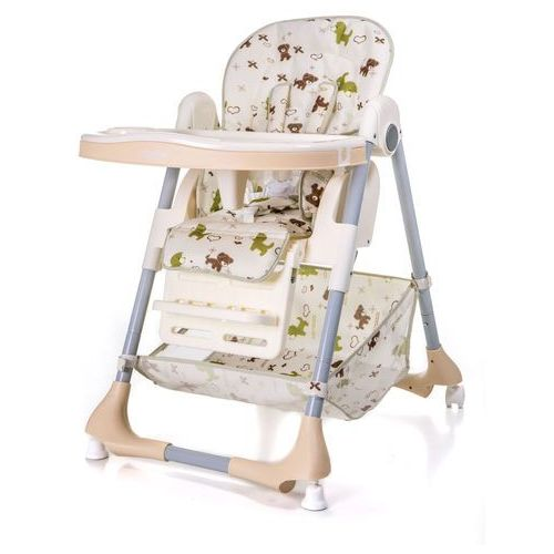 Krzesełka do karmienia, Krzesełko do karmienia ACE 1015 Pieski (Beż)