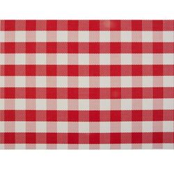 Podkładka na stół 450x300 mm, czerwona krata | APS, 60004