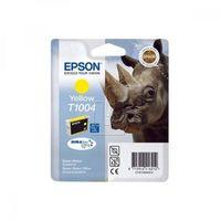 Tonery i bębny, Epson oryginalny ink C13T10044010, yellow, 11,1ml, Epson Stylus Office B40W, BX600FW