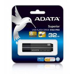 Adata DashDrive Elite S102 Pro 32GB USB3.0 szary - 100MB / 50MB DARMOWA DOSTAWA DO 400 SALONÓW !!