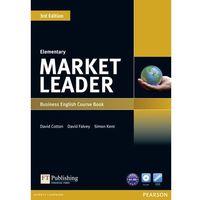 Książki do nauki języka, Market Leader Elementary Business English Course Book + Dvd (opr. miękka)