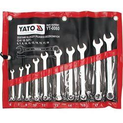 Zestaw kluczy płasko-oczkowych 6-19 mm YATO - YT-0060