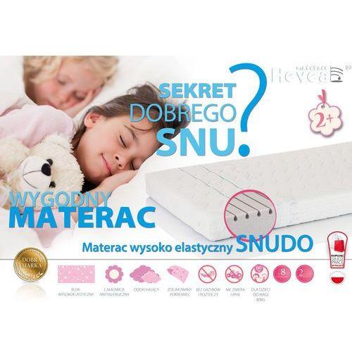 Materace, MATERAC WYSOKOELASTYCZNY HEVEA SNUDO 200x90 + rękawiczki gratis!!