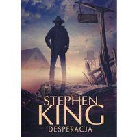 Książki horrory i thrillery, Desperacja (opr. miękka)