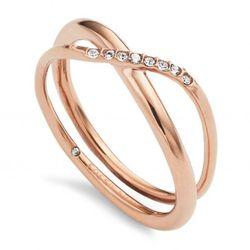 Biżuteria Fossil - Pierścionek JF02255791505 170 Rozmiar 13 - SALE -30%