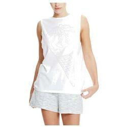podkoszulka BENCH - Ice-Cream Burn Out Vest Bright White (WH11185) rozmiar: S
