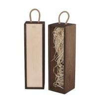 Ozdobne pudełka, V1 skrzynka upominkowa orzech/naturalna