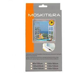 MOSKITIERA SIATKA DO OKIEN 150 x180 cm