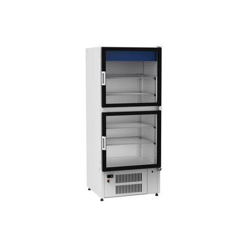 Szafy i witryny chłodnicze, Szafa chłodnicza przeszklona CEBEA LUNA SCh-1-1/700