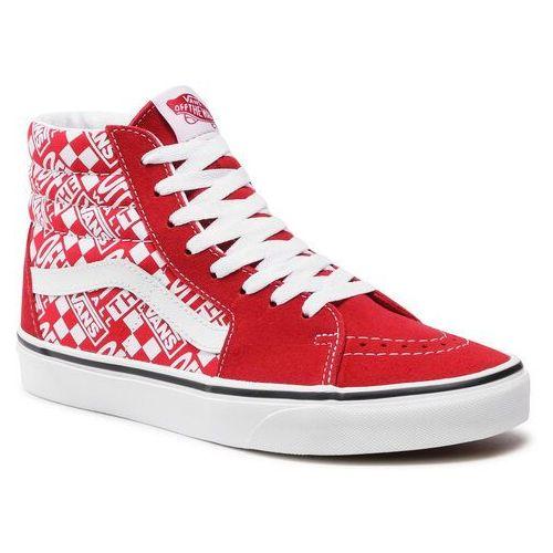 Damskie obuwie sportowe, Sneakersy VANS - Sk8-Hi VN0A32QG3VB1 (Offthewall)Chlpprrccngrd