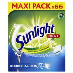 SUNLIGHT All in One Regular 66 szt. – tabletki do zmywarki - BEZPŁATNY ODBIÓR: WROCŁAW!