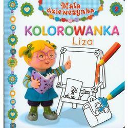 Liza Kolorowanka Mała dziewczynka 2
