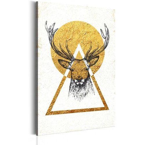 Obrazy, Obraz - Mój dom: Złoty jeleń