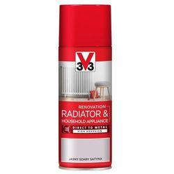 Spray V33 AGD jasny szary satyna 0,4 l