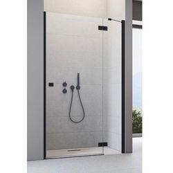 Drzwi wnękowe Radaway Essenza New Black DWJ prawe 130 cm, szkło przejrzyste wys. 200 cm, 385017-54-01R