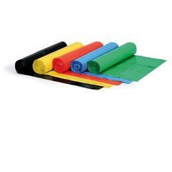 Worek na śmieci 120 litrów, 700 x 1100 mm, LDPE, 80 mikronów, zielony