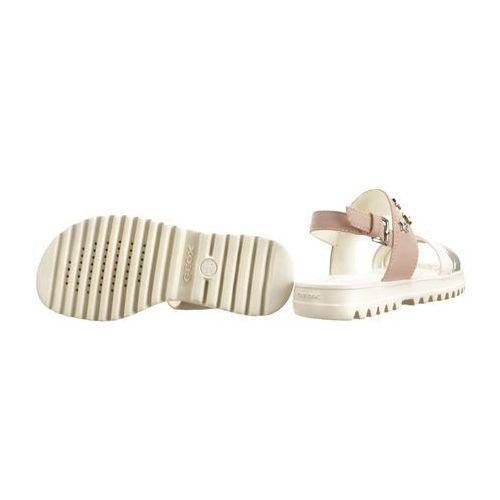 Sandały dziecięce, GEOX J926EC S.CORALIE G 054AJ C8172 lt rose, sandały dziecięce, rozmiary: 28-35