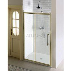 ANTIQUE Drzwi prysznicowe do wnęki przesuwne 120x190 cm szkło czyste, kolor brąz GQ4212C