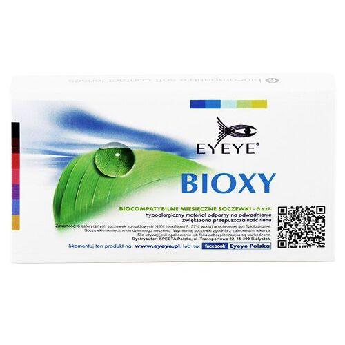 Soczewki kontaktowe, Eyeye Bioxy 6 szt.