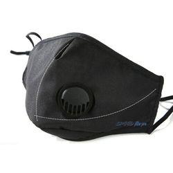Maska Ochronna, Antysmogowa Speed Filter Pro Bawełniana z filtrem i 2 zaworami
