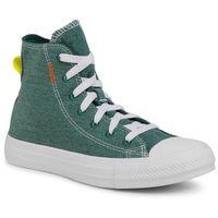 Damskie obuwie sportowe, Trampki CONVERSE - Ctas Hi 168593C Midnight Clover/Lemon Venom