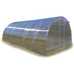 Tunel szklarnia Premium 4x10 z poliwęglanem 6 mm rura stal ocynk.