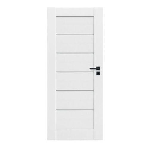 Drzwi wewnętrzne, Drzwi pełne Toreno 90 lewe kredowo-białe