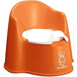Babybjörn Nocnik fotelik, Pomarańczowy - BEZPŁATNY ODBIÓR: WROCŁAW!