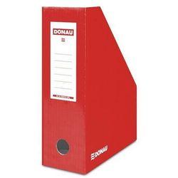 Pojemnik na dokumenty (czasopisma) Donau czerwony lakierowany (7648101-04fsc)